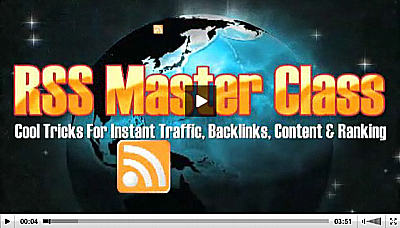 Rss Master Class Click To View Video